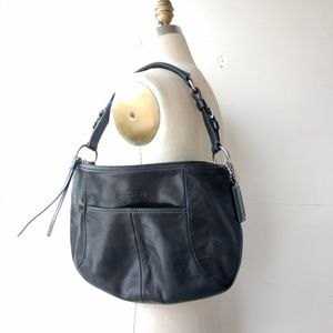 Coach purse black shoulder bag